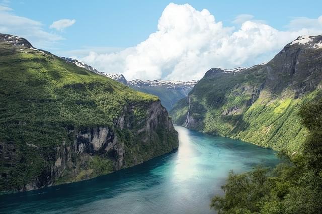 fiordo norvegia montagna panorama 1