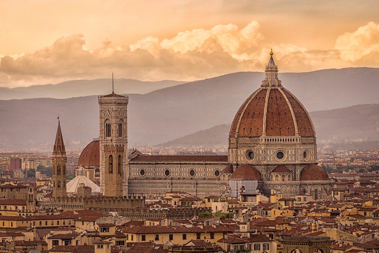 Firenze panorama serale