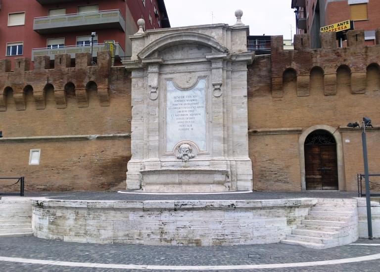 fontana vanvitelli civitavecchia