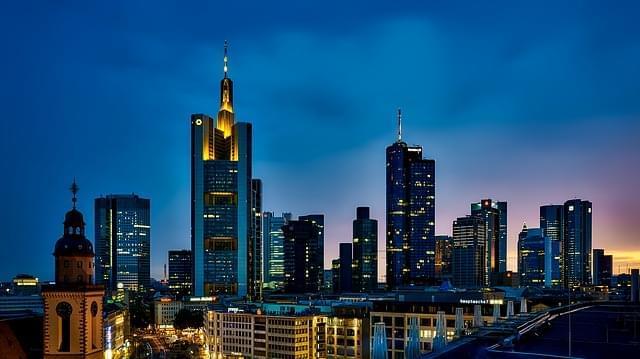 francoforte germania panoramica