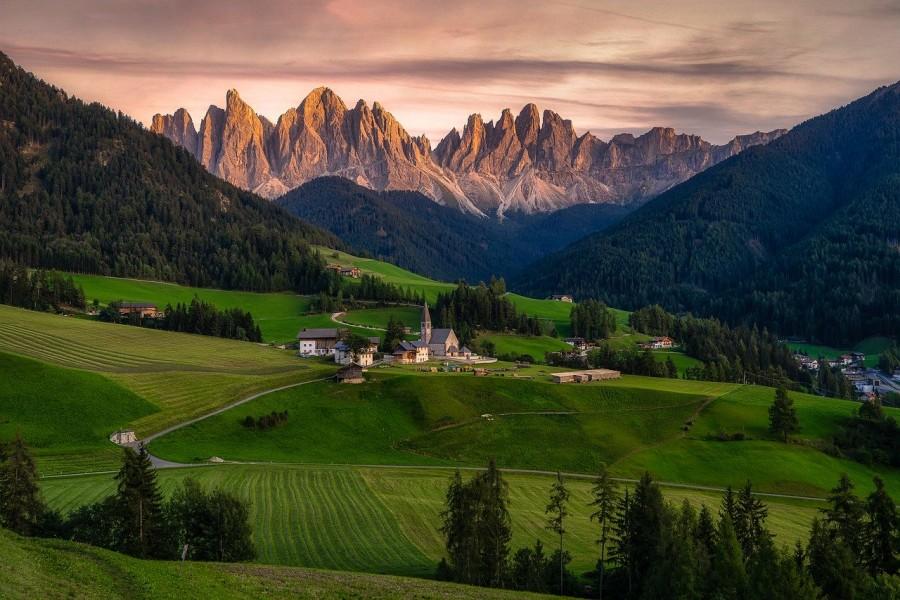 16 panorama dolomiti italia