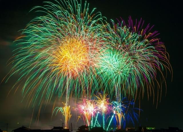 fuochi d artificio luce festival