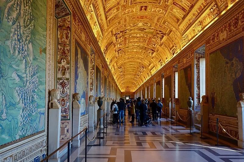 galleria delle carte geografiche musei vaticani