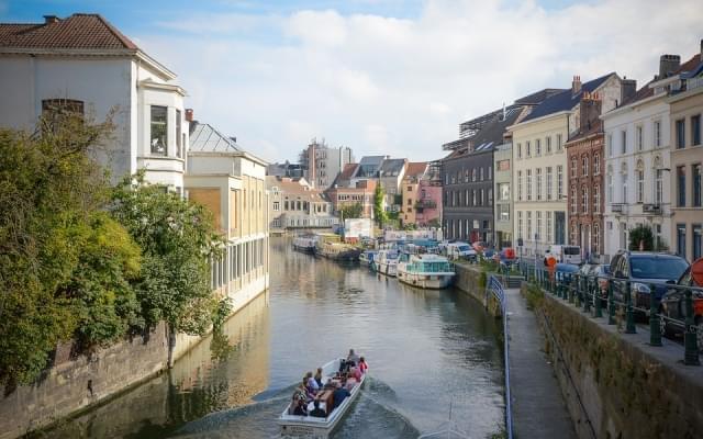 gand belgio fiume citta 1