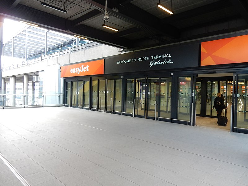 Gatwick Airport North Terminal Entrance