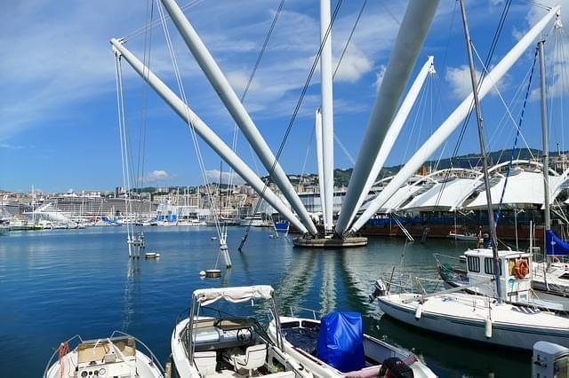 genova porto barche