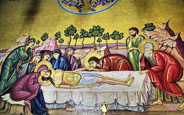 gerusalemme santo sepolcro mosaico