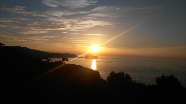 getaria tramonto
