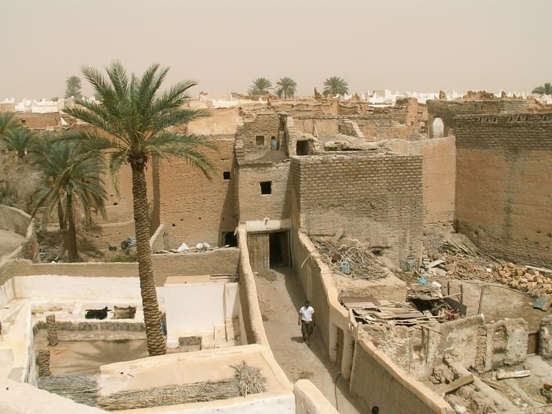 Ghadames in Libia