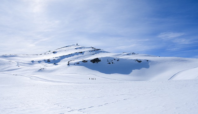 ghiacciaio neve paesaggio montagna