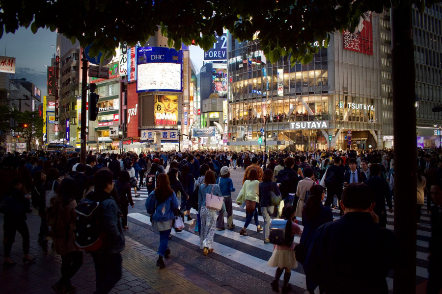 Tokyo Dome area
