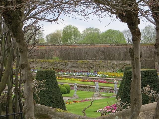 giardino primavera fiori all aperto