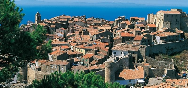 Giglio Castello, Provincia di Grosseto