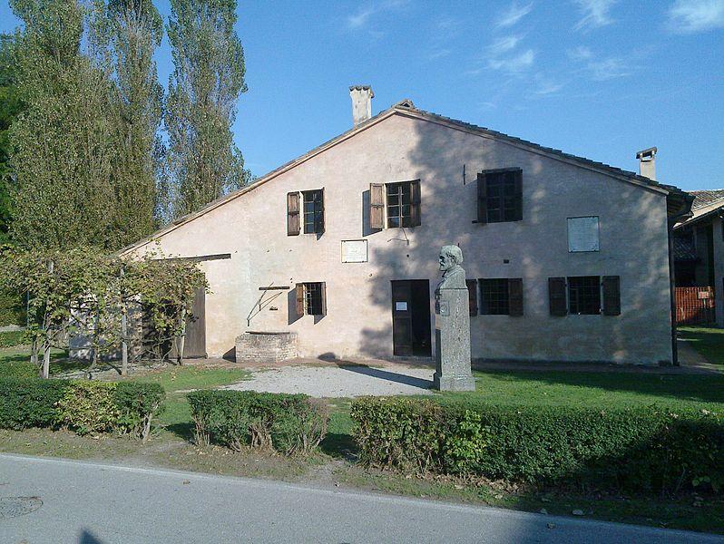 La casa d'infanzia di Giuseppe Verdi