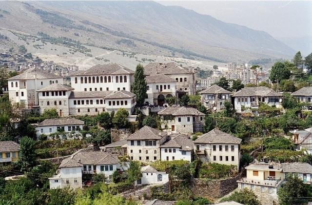 gjirokastra panorama