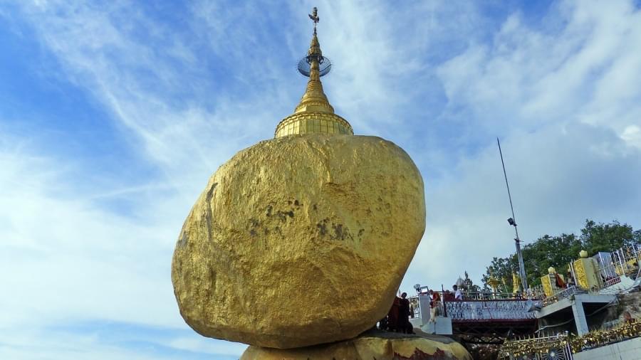 Settimo posto kyaikto golden rock birmania