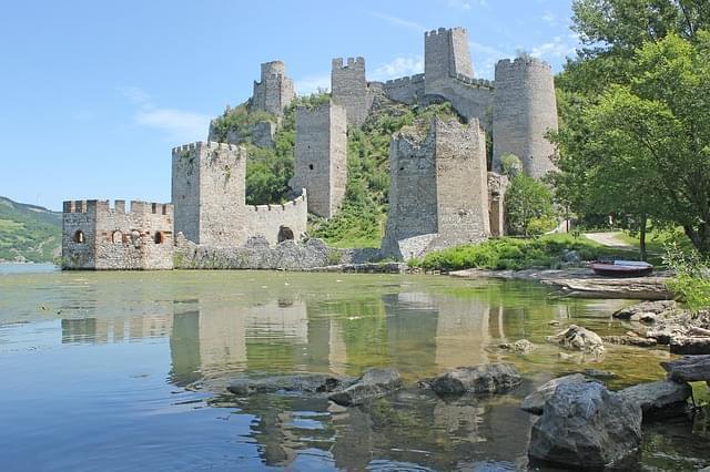 fortezza di Golubac sul Danubio
