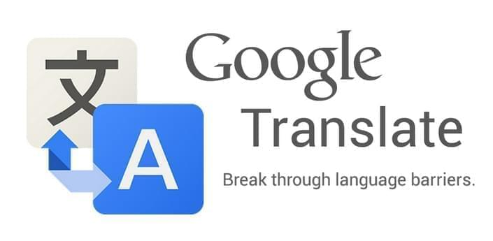 google translate app mobile