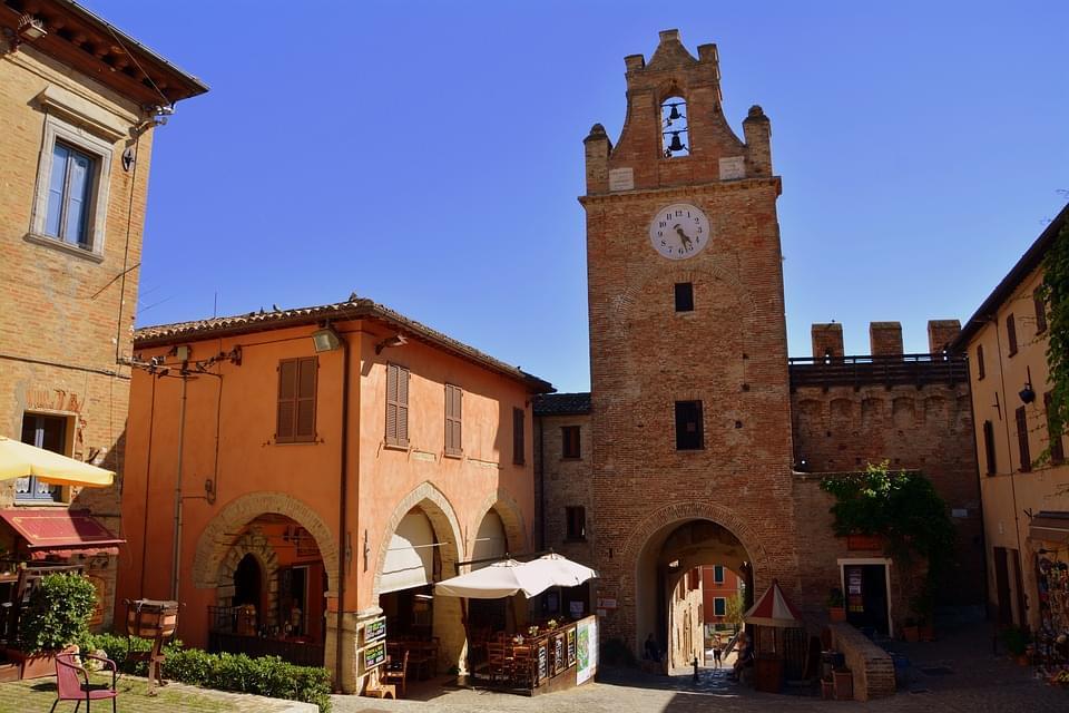 Gradara, Provincia di Pesaro e Urbino