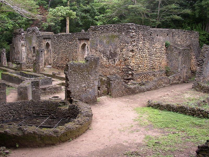 rovine di gede Kenya