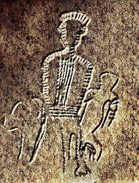 graffito della Grotta del genovese levanzo