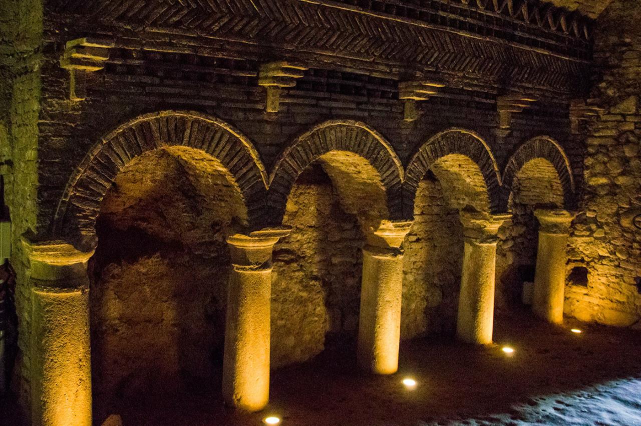 Sottoterra, nelle grotte di Santarcangelo
