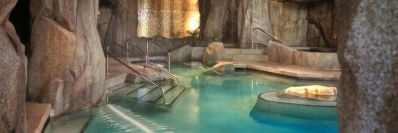 Grotto Spa in Canada