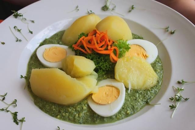 grune sobe e patate