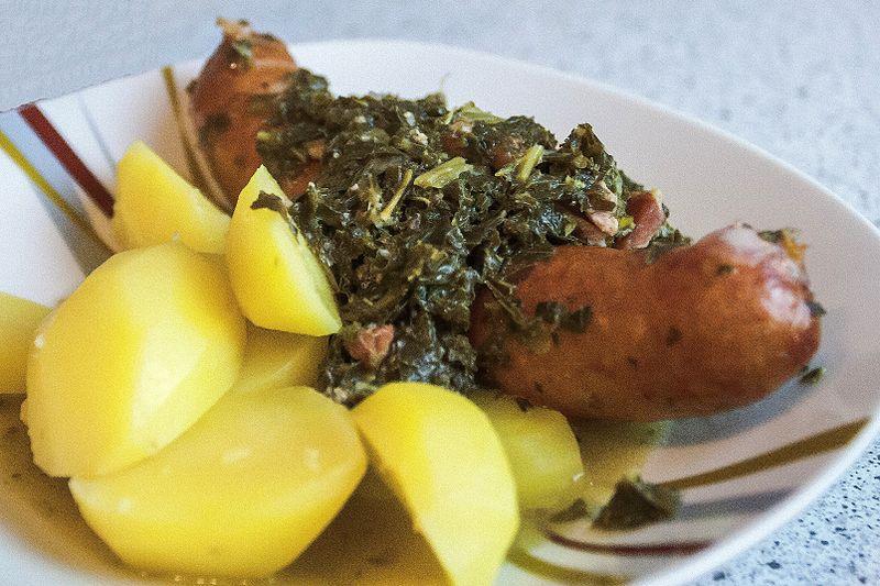 grunkohl sostanzioso piatto a base di cavolo