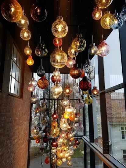hadeland glassverk arte lampade