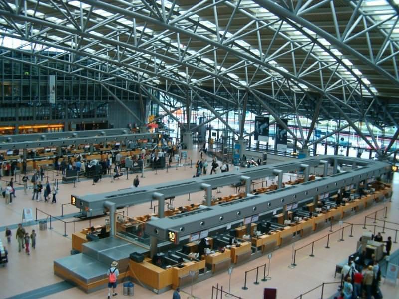 aeroporto amburgo