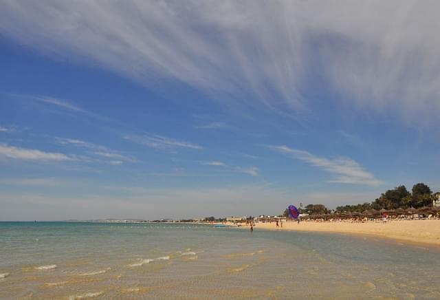 hammamet sud spiaggia mare turchese