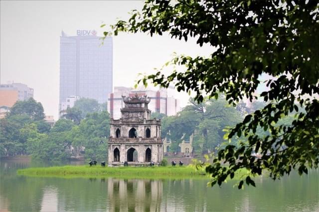 hanoi vietnam lago park naturale