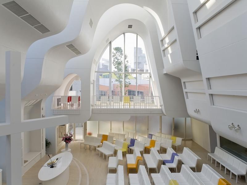 Harajuku Protestant Church, Tokyo (Giappone)