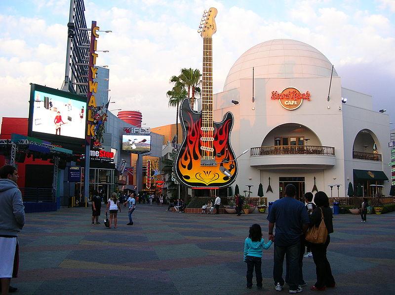 HRC di Hollywood visto dall'esterno