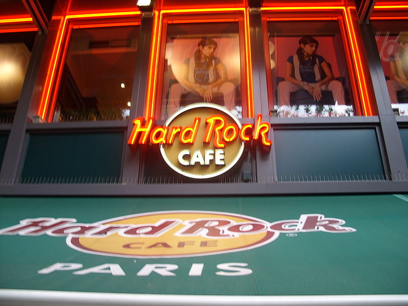 Hard rock cafe di Parigi