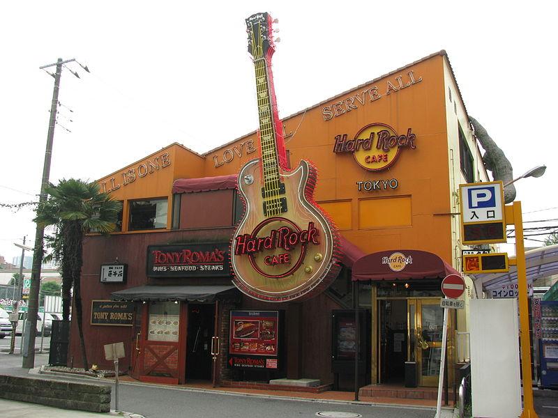 Hard rock cafe di Tokio