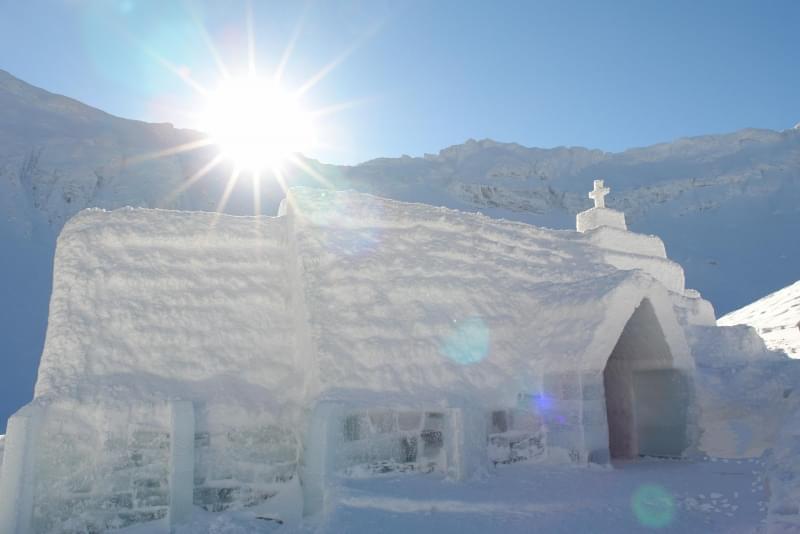 Chiesa di Ghiaccio in Lapponia