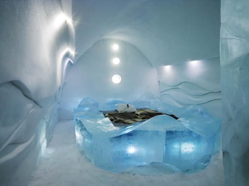 Ice Hotel in Svezia