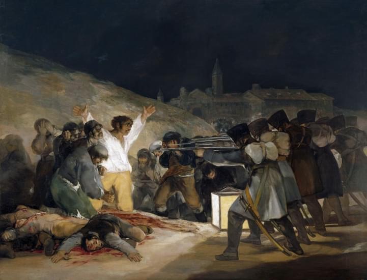 il 3 maggio 1808 francisco goya
