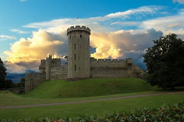 il castello di warwick forte warwick
