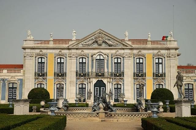 il palazzo di queluz