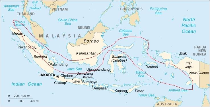 indonesia sub equatoriale