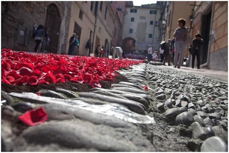 Infiorate da vedere nella Liguria di Ponente