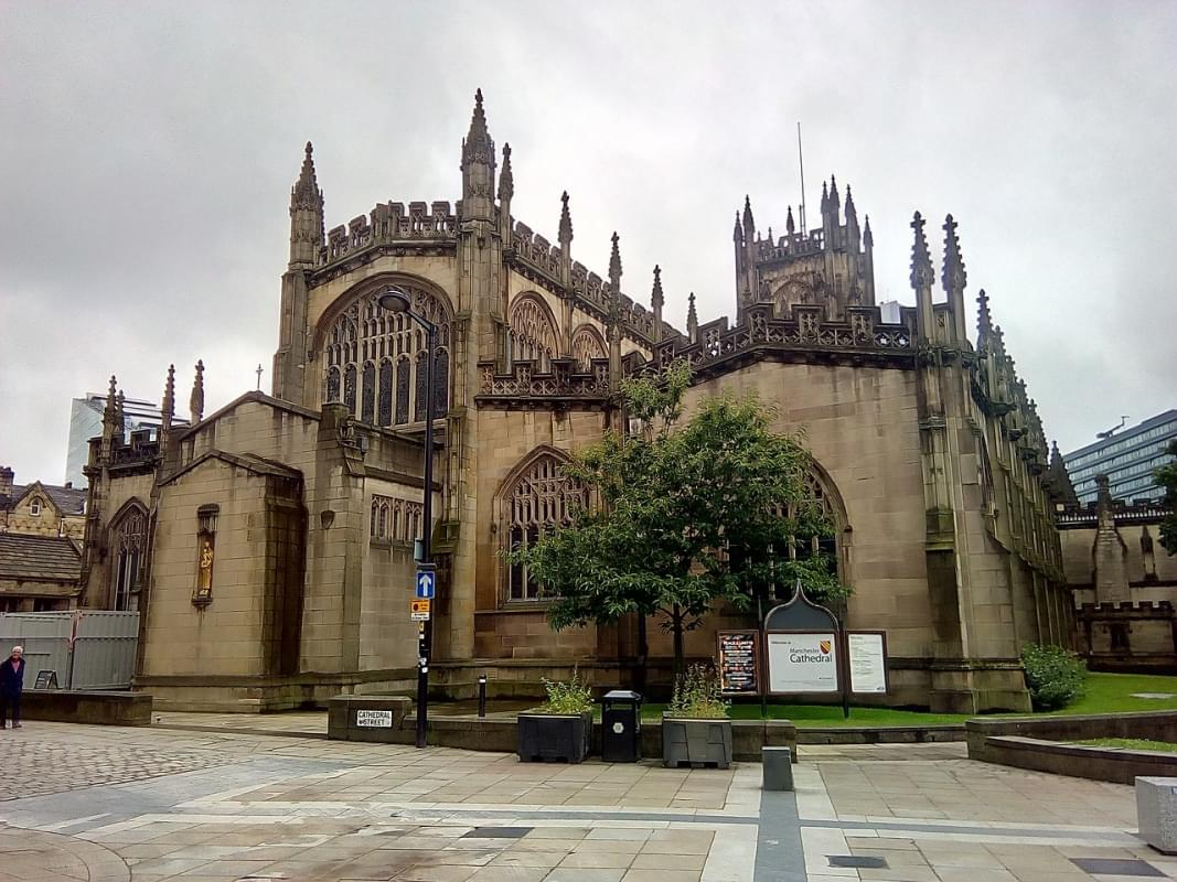 inghilterra cattedrale manchester 1