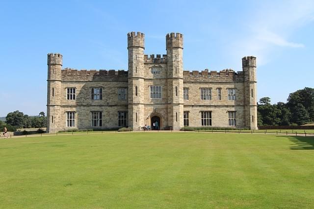 inghilterra leeds castel castello