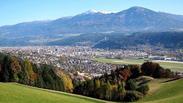 innsbruck austria panorama montagne 1