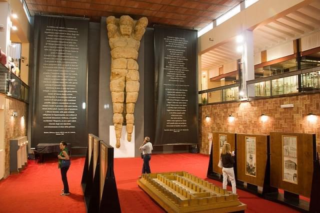 interni del museo regionale di agrigento