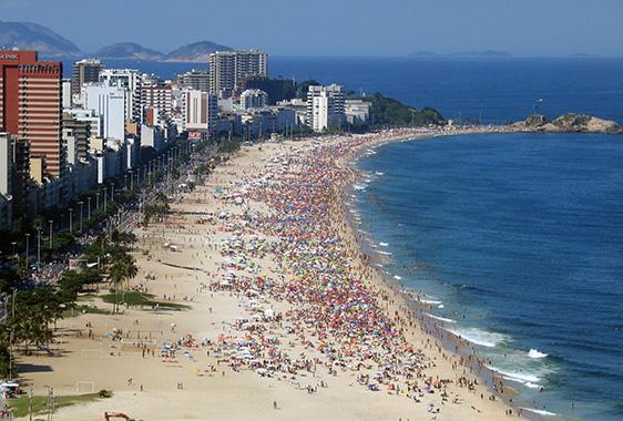 Ipanema Beach, Rio de Janeiro - Brasile