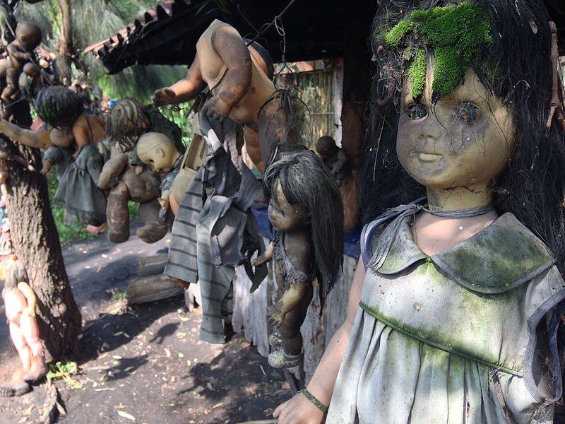 isola delle bambole impiccate